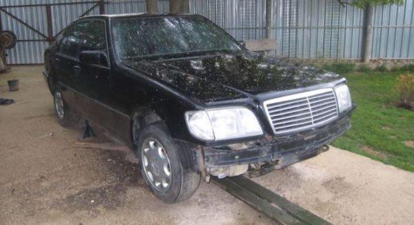 Российский умелец превратил Mercedes-Benz S500 в огромный внедорожник