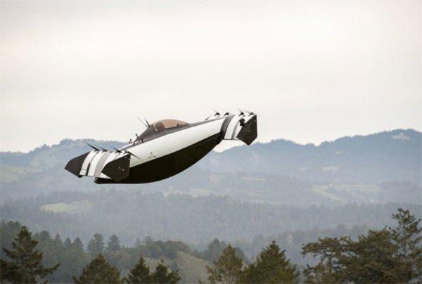 В США представлен пассажирский мультикоптер