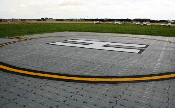 Покрытие для вертолетных площадок выгодно