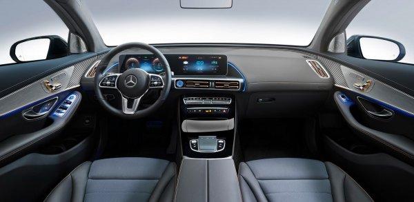 В Россию привезут электрический Mercedes-Benz EQC