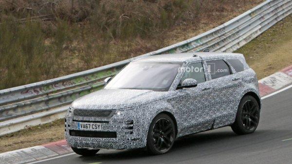 Британцы готовят к премьере новый Range Rover Evoque