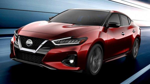 Обновленный седан Nissan Maxima дебютирует на автосалоне в Лос-Анджелесе