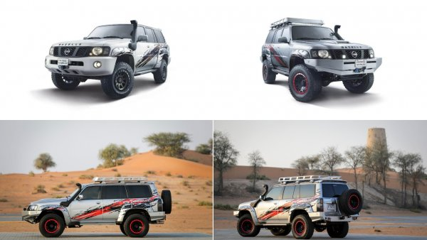Nissan Patrol превратили в  «ГАЗель»