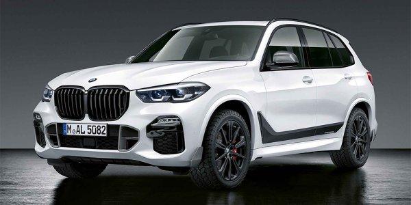 BMW X5 нового поколения получил спортивный комплект от M Performance