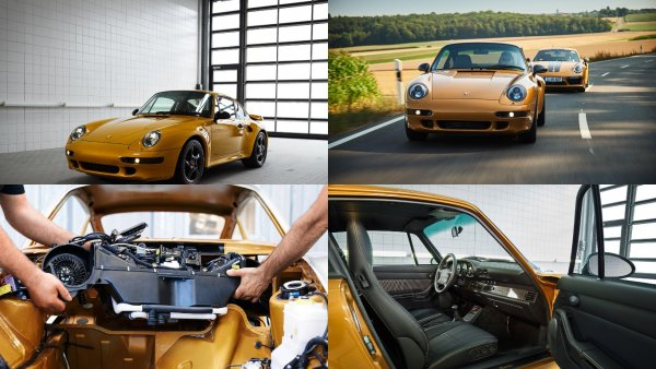 Porsche 911 Project Gold продали с молотка за 205 700 000 рублей