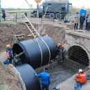 В тюменской Зареке канализационные стоки переключили на новые коллекторы