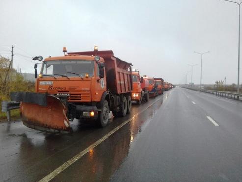 До двух столовых ложек соли на кв. метр: тюменские дороги обещают не пересаливать