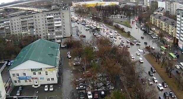 Погода в Тюмени 8 ноября: снег и сильный ветер
