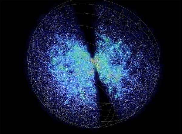 Тысячи роботов создадут трехмерную модель Вселенной