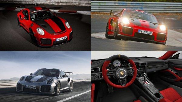 Фантастическое время: Суперкар Porsche GT2 RS MR стал наиболее скоростным авто на Нюрбургринге