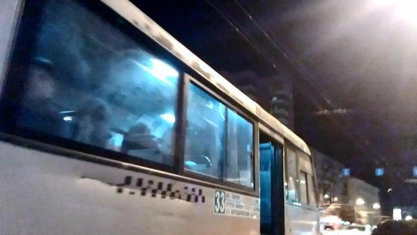 Жители Ростова-на-Дону разоблачили хитрого водителя маршрутки