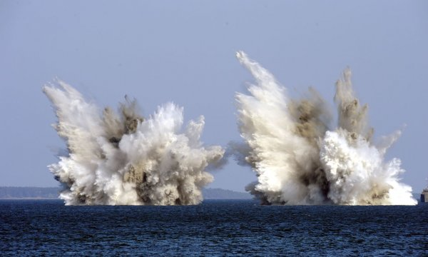 Ученые из США объяснили спонтанные взрывы морских мин