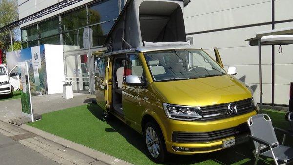 Немцы представили спецверсию Volkswagen California