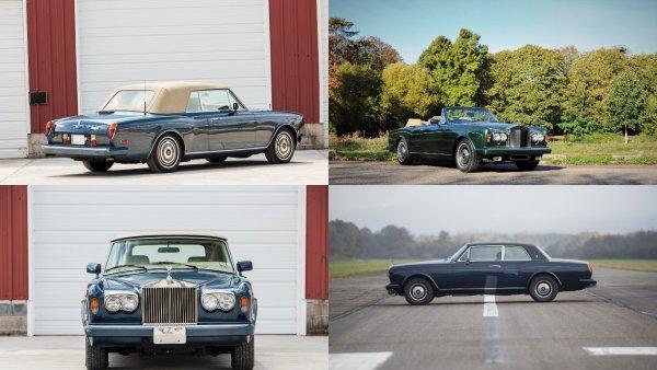 В Британии с молотка уйдет кабриолет Rolls-Royce Фрэнка Синатры