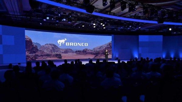 В сети обнародовали фото нового Ford Bronco