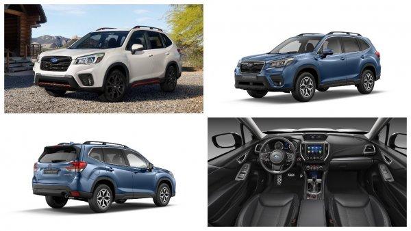 В России начали предлагать новое поколение Subaru Forester