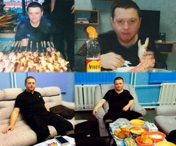 Цеповяз съедал деликатесов в колонии на 30-60 тысяч рублей в месяц