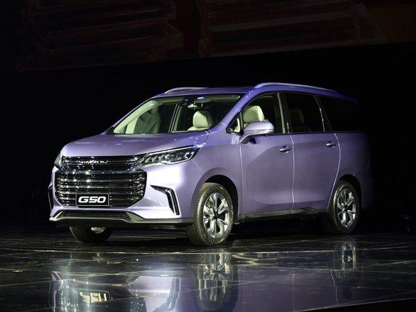 В Китае представили бюджетный минивэн Maxus G50