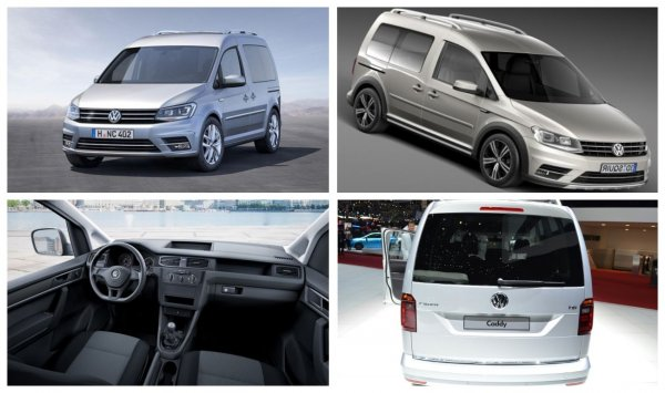 В России стартовал предзаказ на Volkswagen Caddy с мотором «Евро-6»