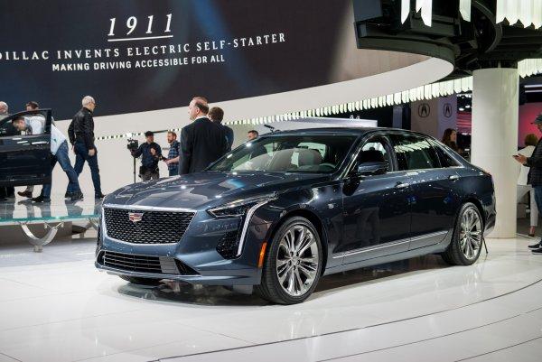 В 2019 году в Россию приедет несколько новинок от Cadillac
