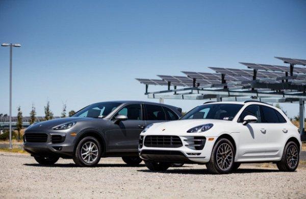 Porsche объявил об отзыве Macan и Cayenne в США