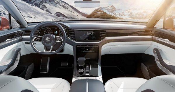 Показано фото конкурента BMW X6 от Volkswagen