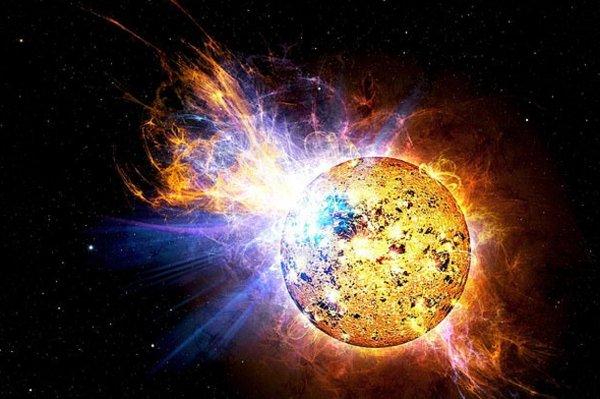 Астрономы зафиксировали аномальную вспышку молодой звезды