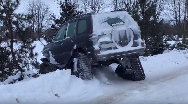 «Крузак» для русской зимы: Об идеальном Toyota Land Cruiser Prado рассказали в сети