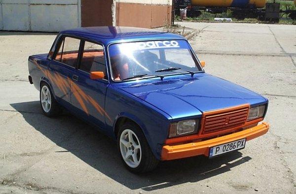 Лучшие «Семёрки» России: ТОП-10 тюнингованных ВАЗ-2107 показали в сети