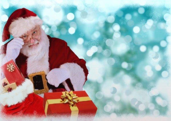Дед Мороз привез подарки сирийским детям к Новому году