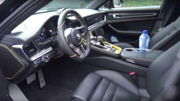 Ателье TechArt презентовало доработанный Porsche Panamera