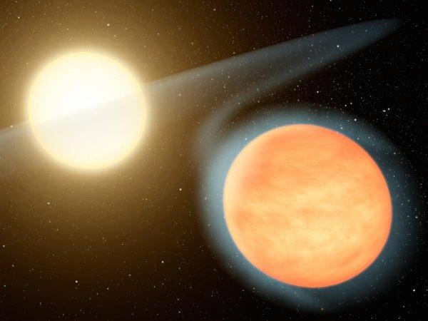 На орбите молодой звезды обнаружены огромные планеты