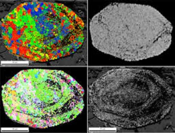 Ученые доказали вторичность древних намагниченных зерен циркона на Земле