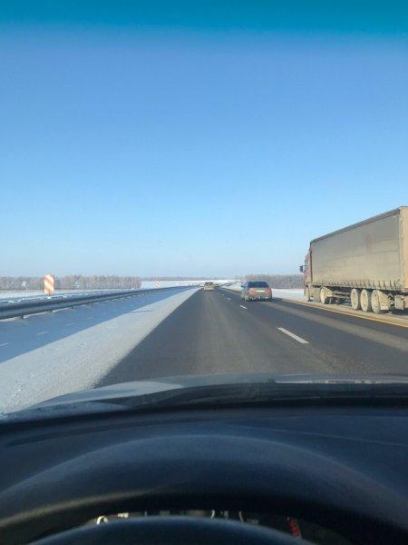 «Ехать можно»: Об улучшении дорожной обстановки на М4 «Дон» информируют водители
