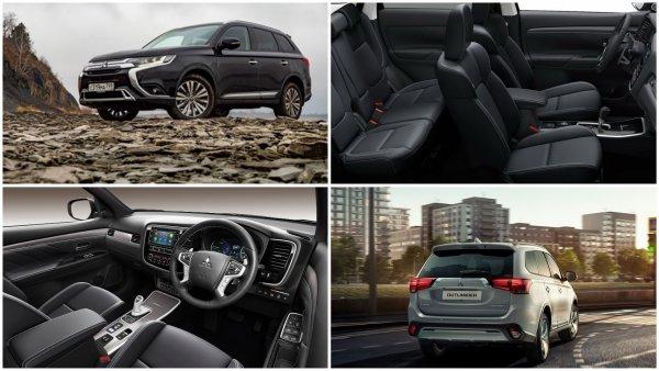 Mitsubishi «заморозила» ценники на кроссовер Mitsubishi Outlander 2019