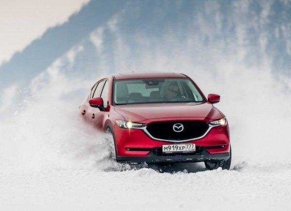 «Для дворовых сугробов – пойдёт»: Mazda CX-5 испытали зимним офф-роудом