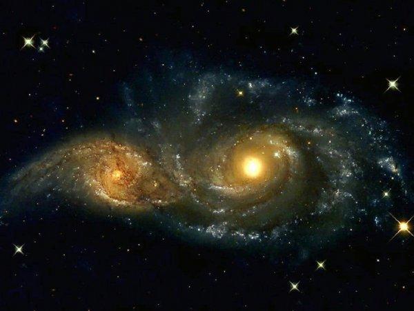 Ученые объяснили, почему галактики сталкиваются при расширении Вселенной