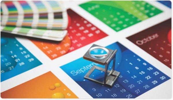 Рекламная полиграфия: разновидности календарей для дома и офиса