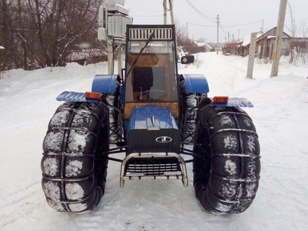 «Нива» для самых бедных»: «Внедорожный биотуалет на колёсах» высмеяли в сети