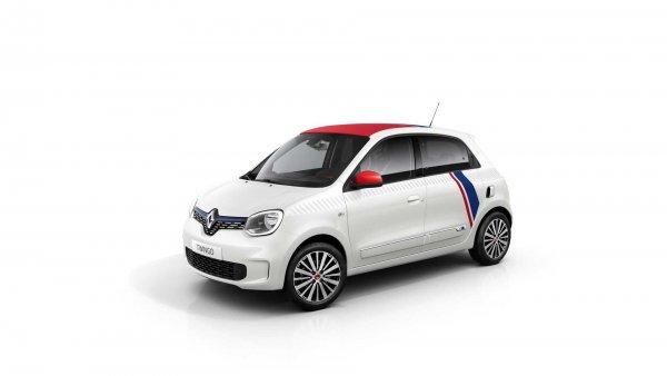 Renault представит «заряженный» хэтчбек Twingo Le Coq Sportif