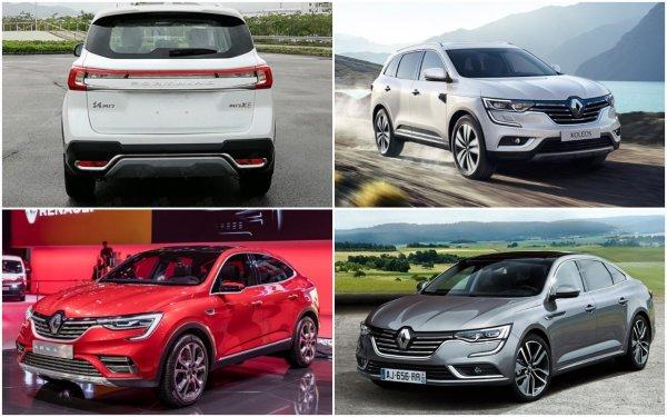 Кроссовер Dongfeng Forthing X5 стал «клоном» Renault
