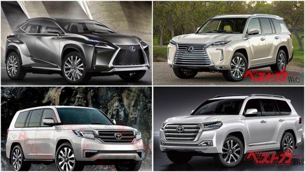 Наконец-то: Новый Toyota Land Cruiser 300 и Lexus LX дебютируют осенью