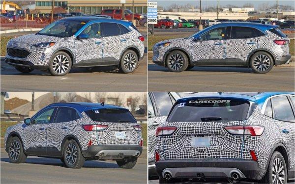 Новый Ford Kuga представят во второй половине 2019 года