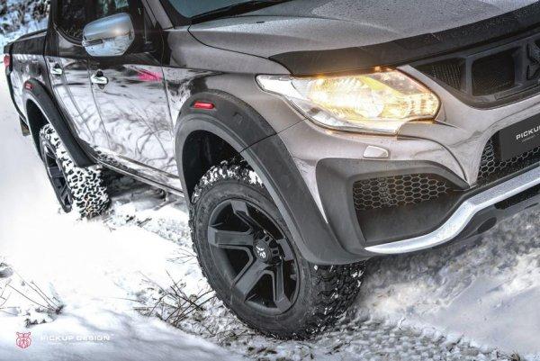 Представлен стильный пикап Pickup Design Mitsubishi L200