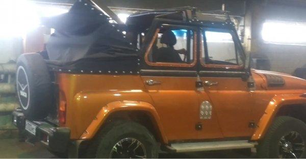 «УАЗику» снесло крышу»: Сеть восхитил необычный кабриолет УАЗ-3151