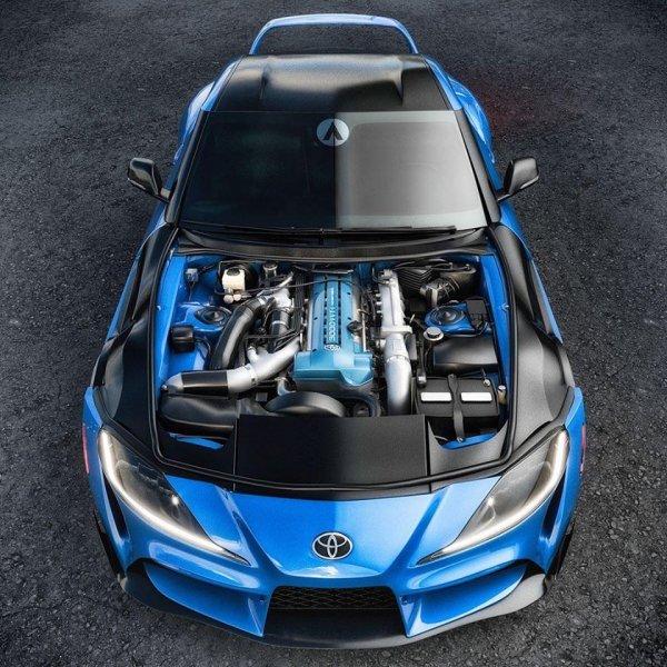 Для новой Toyota Supra представлен тюнинг-проект