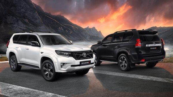 «Тюнинг по цене «Гранты»: Эксклюзивный Toyota Land Cruiser Executive Lounge KHANN «взорвал» сеть