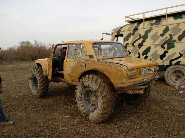 «Жигуль-уничтожитель»: ВАЗ-2101 для жёсткого бездорожья показали в сети