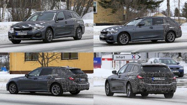 В Швеции тестируется новый универсал BMW 3 Series Touring