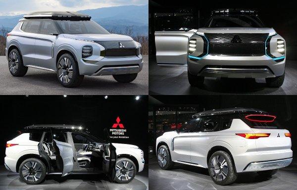Mitsubishi показала в Женеве предвестника нового Mitsubishi Outlander